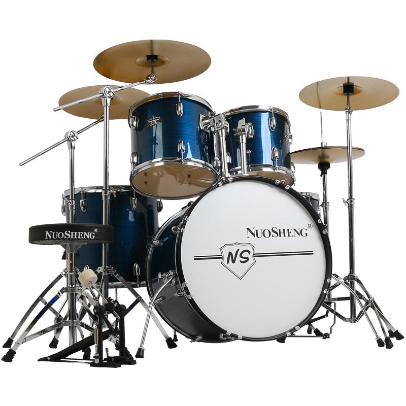 镲初学者入门练习专业演奏 4 镲 3 鼓 5 诺声架子鼓大人儿童自学爵士鼓