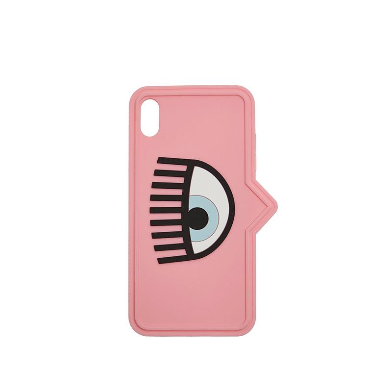 苹果手机壳黎胶防护套 xsmax xs x iPhone 大眼睛 Ferragni Chiara