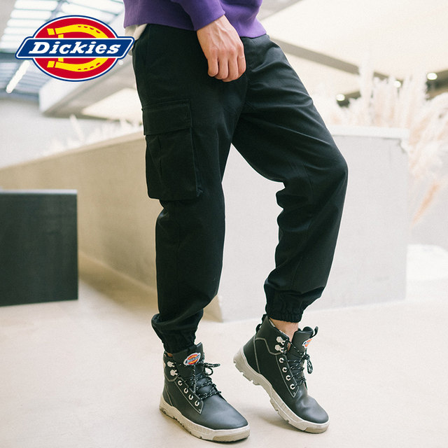 Dickies overalls men's tide brand autumn new loose multi-pocket trousers dicks casual pants