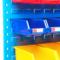 驰兔五金工具挂板百叶零件盒挂板螺丝收纳盒子挂板架元件盒储存架