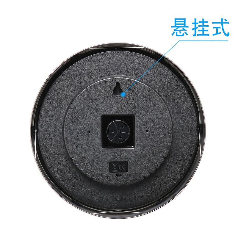 大尺寸30CM不锈钢指针式温湿度计室内外干湿度工业高精度温湿度表