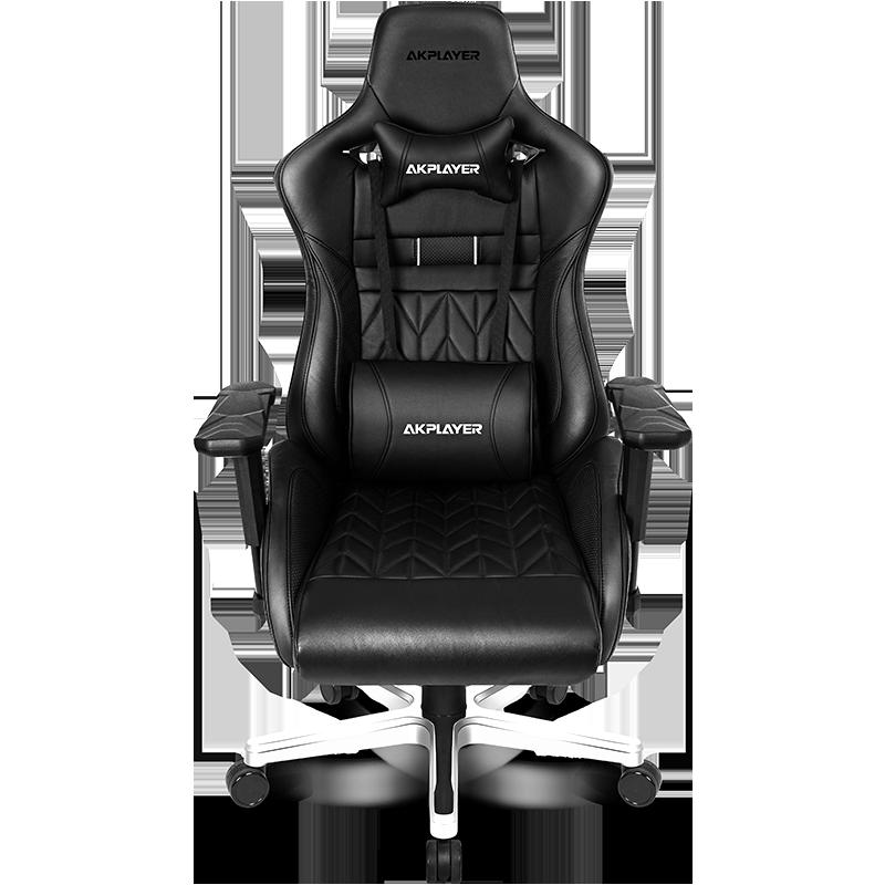 阿卡丁akplayer 至尊老板椅 真皮牛皮电脑椅家用商务办公可躺转椅