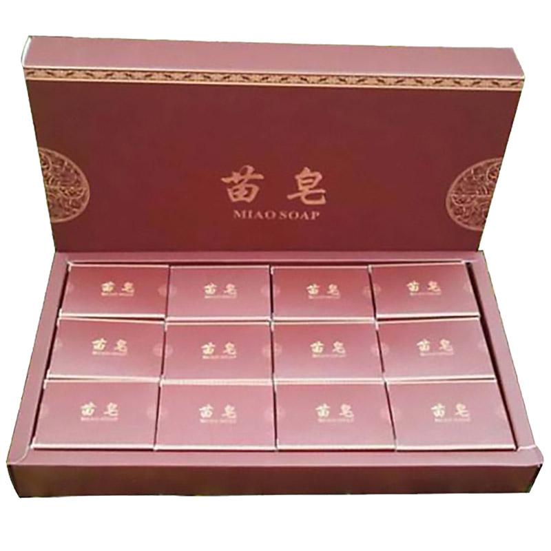 元 370 块 24 大盒 2 苗皂官方正品去粉刺黑头天然手工皂