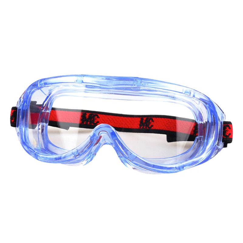 3M护目镜劳保防飞溅防护眼镜防风防尘防雾眼镜男女款大视窗