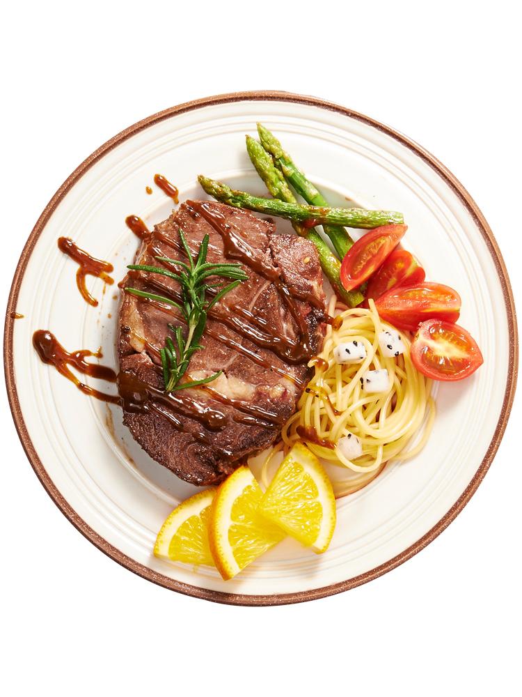 赤豪澳洲家庭牛排套餐团购共22片新鲜牛肉菲力黑椒刀叉