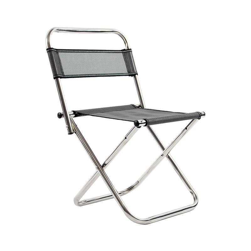 厂家直销钓鱼椅便携折叠钓鱼椅子不锈钢钓鱼凳户外休闲椅渔具