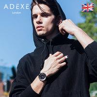 ADEXE英国手表男dw钢带石英表 进口时尚情侣男女礼物大表盘DW腕表 (¥759(券后))