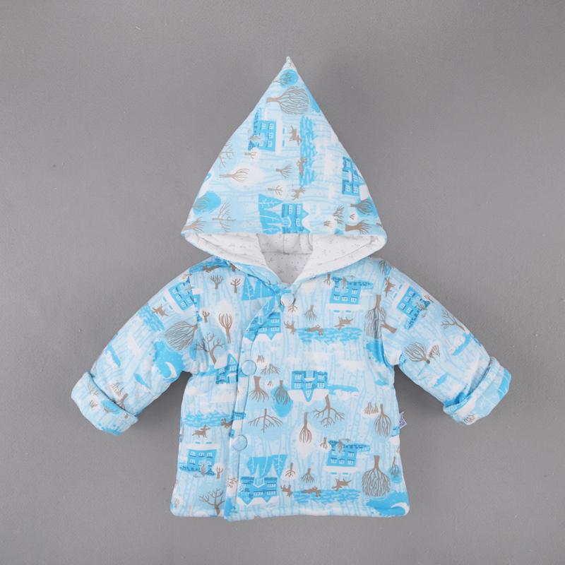 婴儿棉衣外套6新生儿加厚春秋保暖上衣男6女宝宝9个月婴儿外套