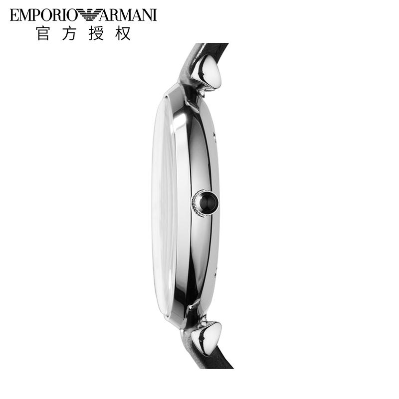 Emporio Armani阿玛尼男表欧美简约休闲石英男士手表AR1674