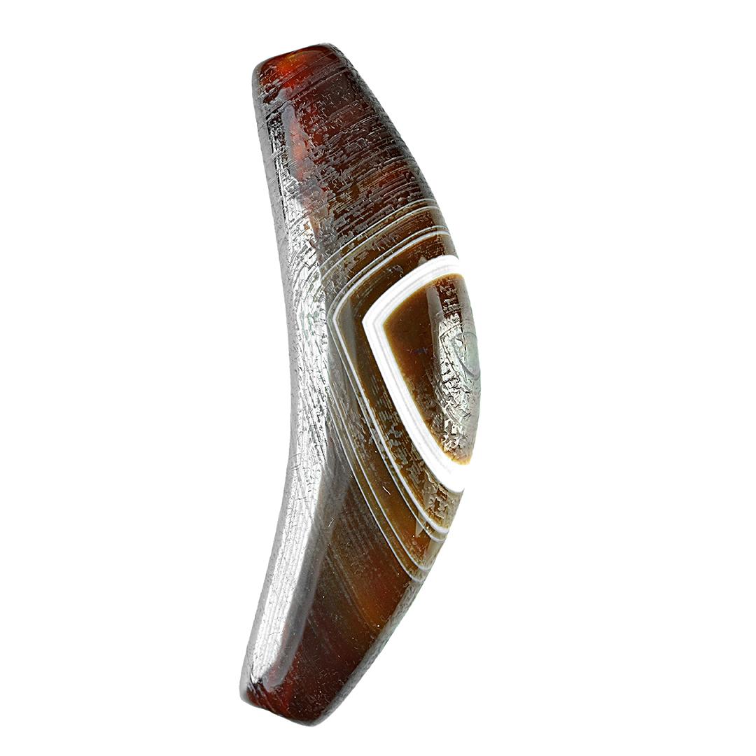 西藏天珠至纯九眼石页岩玛瑙玉髓项链吊坠手串开光真品直播专拍