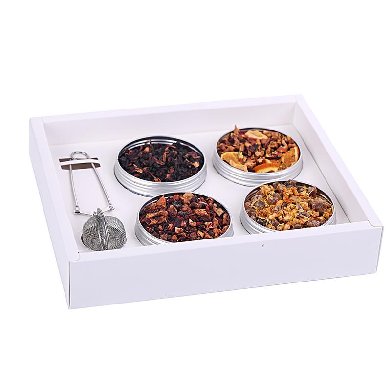 种口味组合洛神花茶送茶壶包邮 4 德国花果茶果粒茶进口水果茶经典