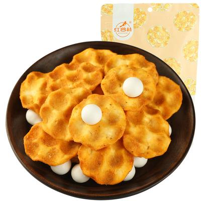红谷林石头饼麻辣味手工石子馍石头馍粗粮饼干早餐女办公室小零食