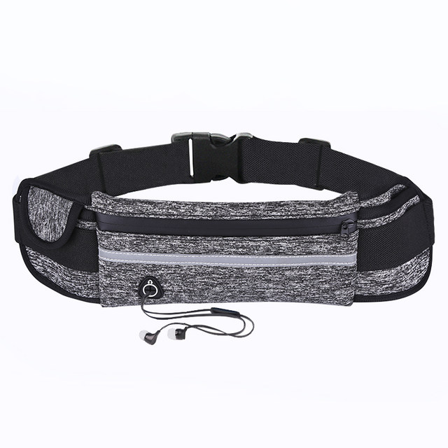 Sports waist bag multi-function running mobile phone bag men and women fitness outdoor water bottle bag invisible personal casual small waist bag