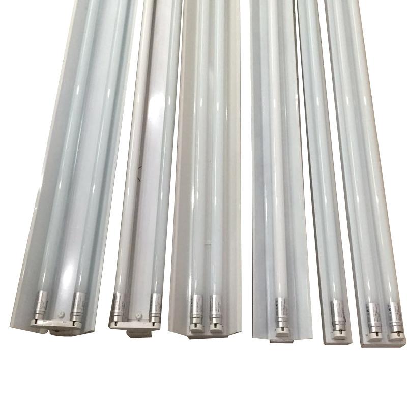 led灯管 改造日光灯双管1.2米双管支架 超亮LED一体化支架 办公室