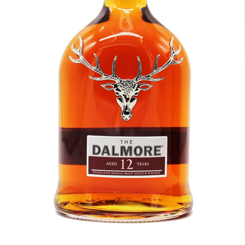 原瓶进口 年单一麦芽纯麦威士忌 12 达尔摩 大摩 帝摩洋酒 Dalmore