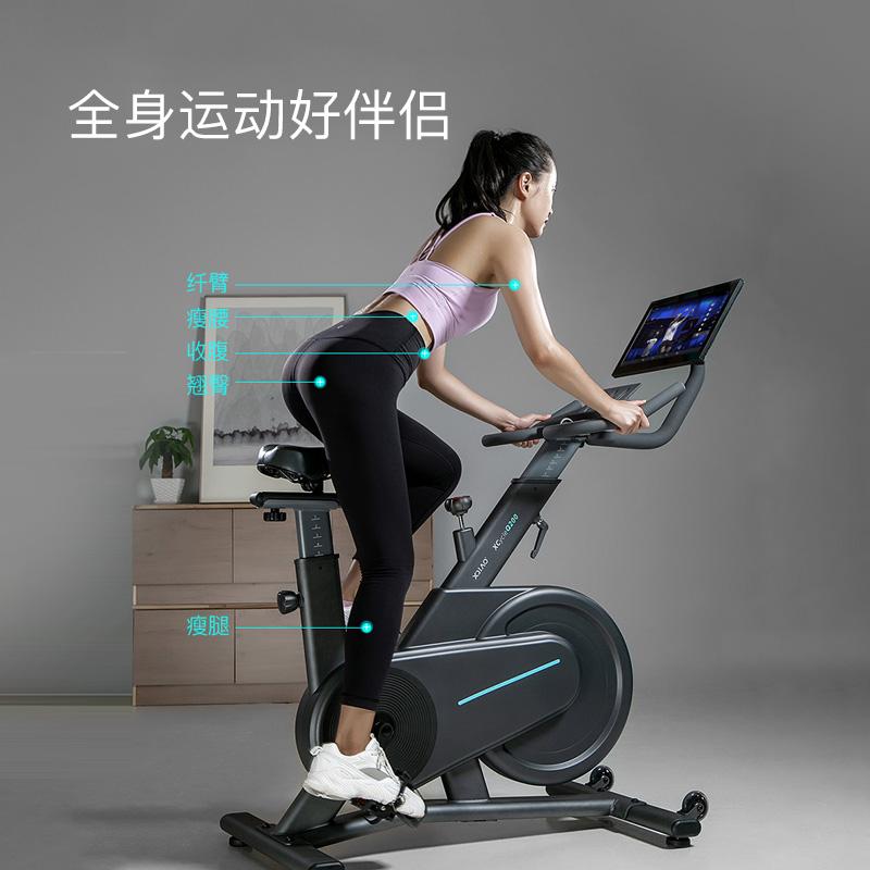 小乔动感单车家用款减肥小型运动健身房器材室内自行车磁控健身车