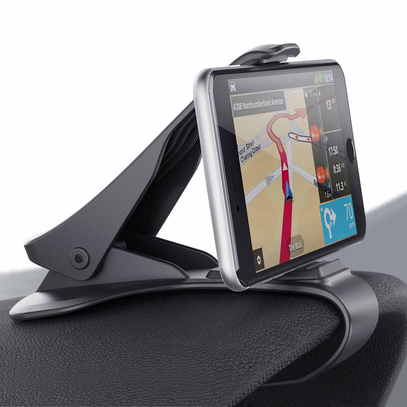 车载手机支架座汽车仪表台通用创意车用多功能卡扣式HUD导航架