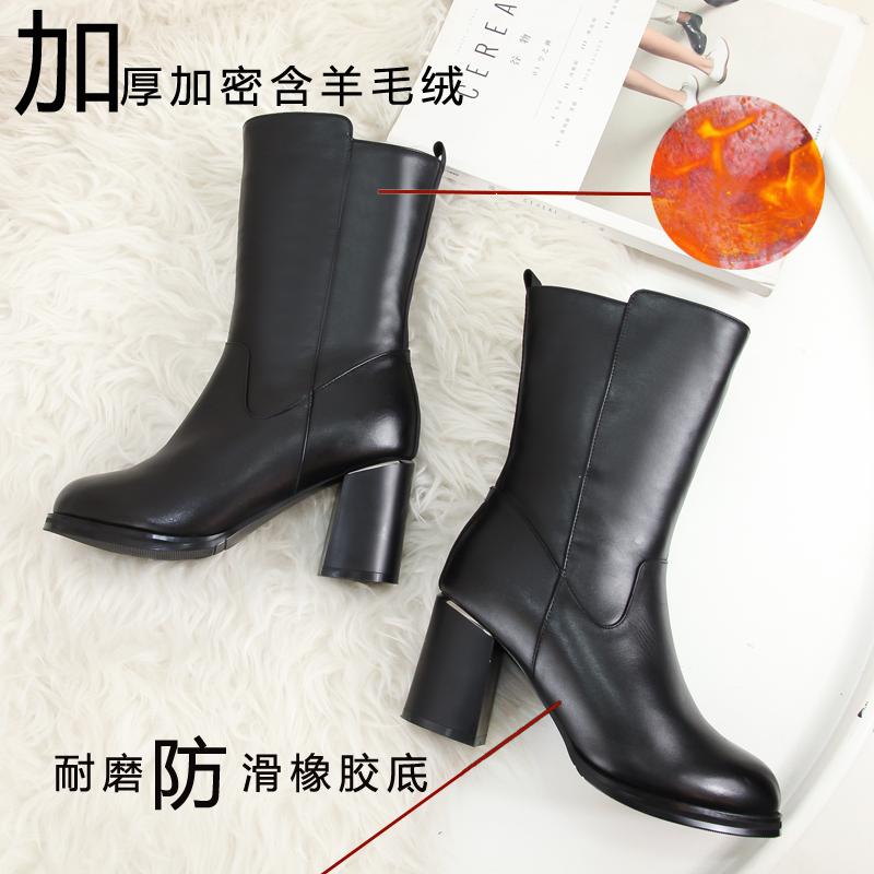充电发热女靴 爽身悦足正品 加毛加厚电暖保暖鞋暖脚短靴可定制