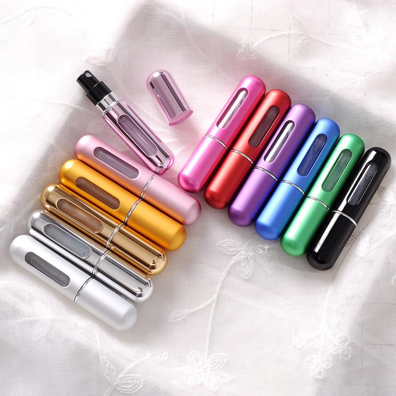 高档香水分装瓶底部充装香水瓶便携旅行分装瓶喷雾瓶空瓶香水瓶子