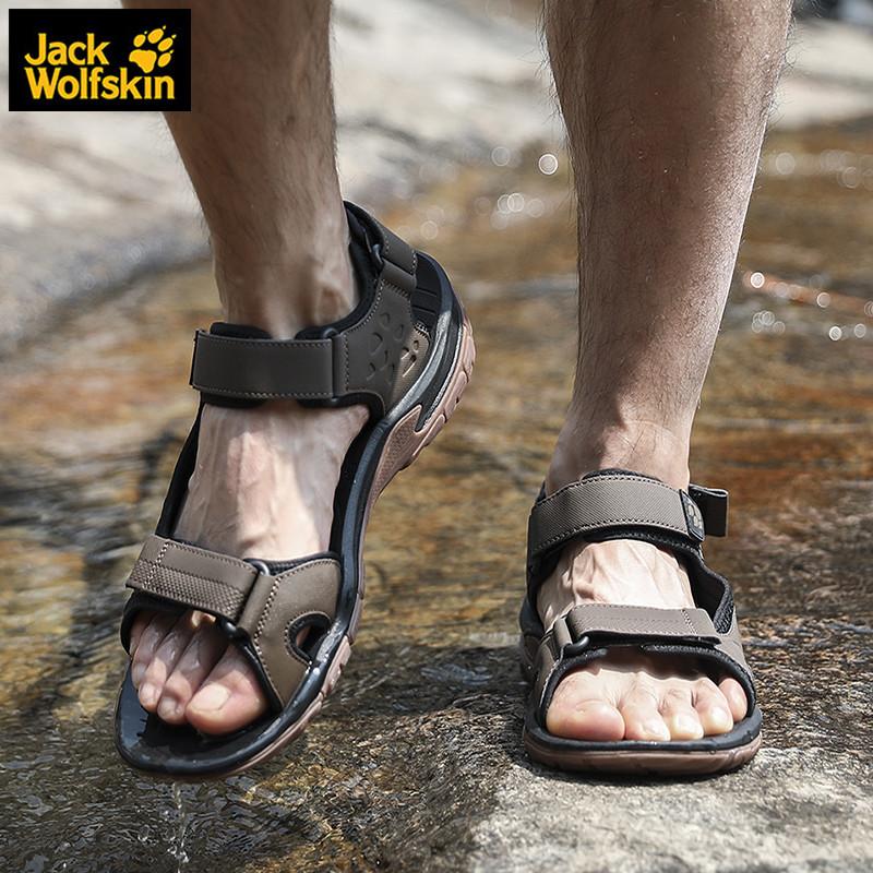狼爪凉鞋男士夏季新款户外运动耐磨轻便透气沙滩鞋涉水鞋4019011