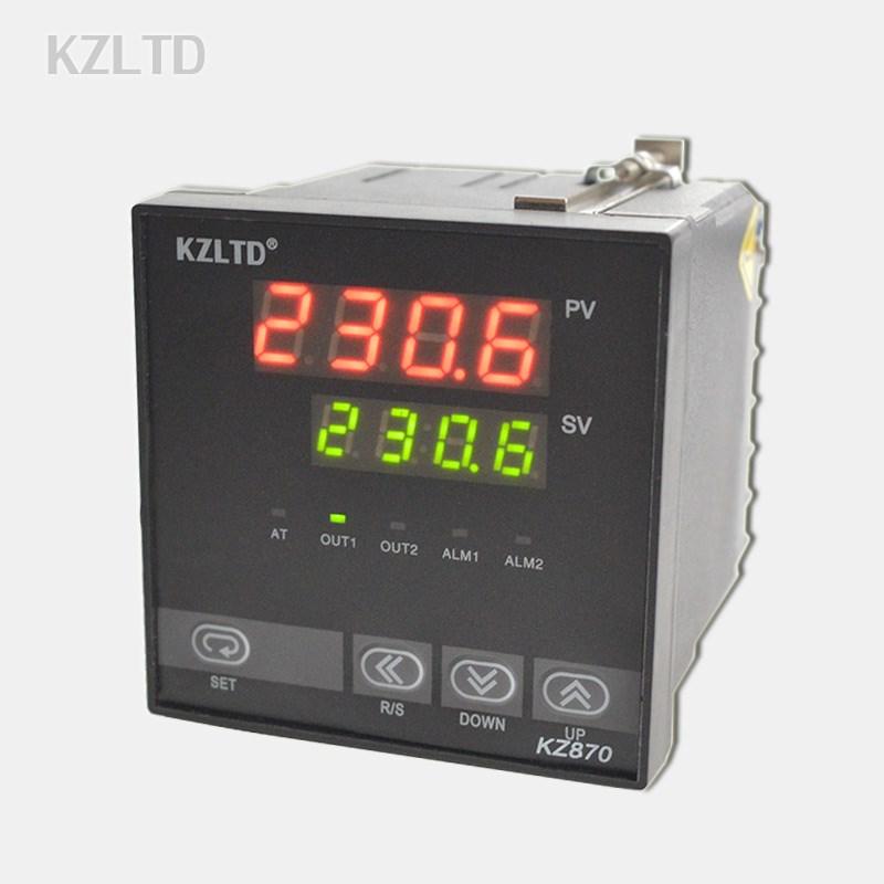 智能温控表 PID 加热管上下限恒温控制器 大功率温控仪开关 30A 数显