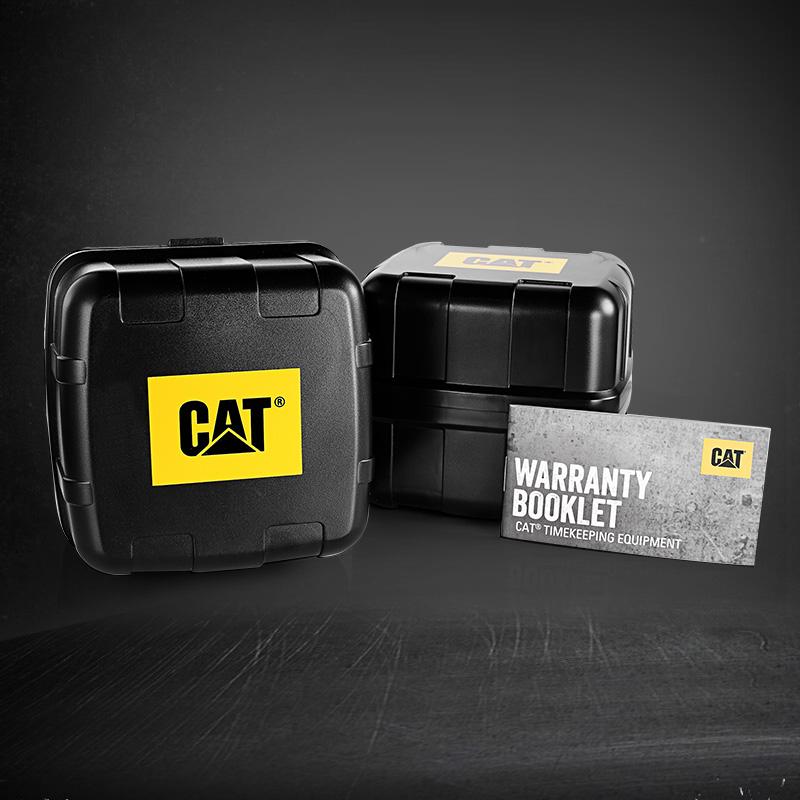 系列 M 卡特彼勒男士时尚手表学生潮流石英表大表盘正品腕表军表 Cat