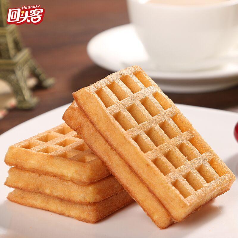 回头客糕点心华夫饼枣泥蛋糕铜锣烧手撕面包年货营养早餐休闲零食