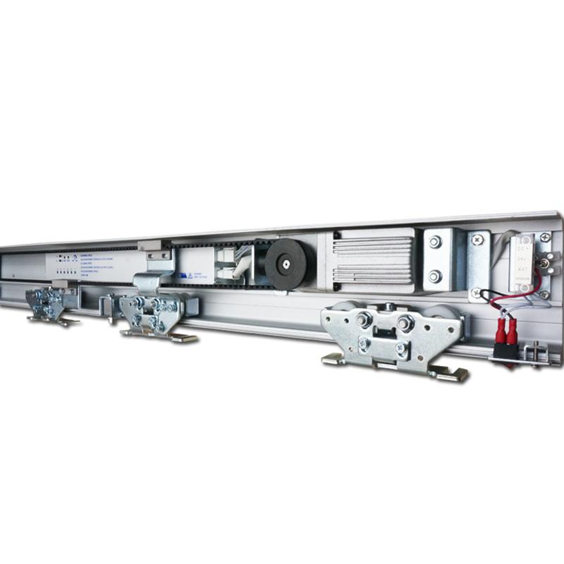 川奇感应门自动门整套机组自动平移门玻璃门轨道门禁机通用松下