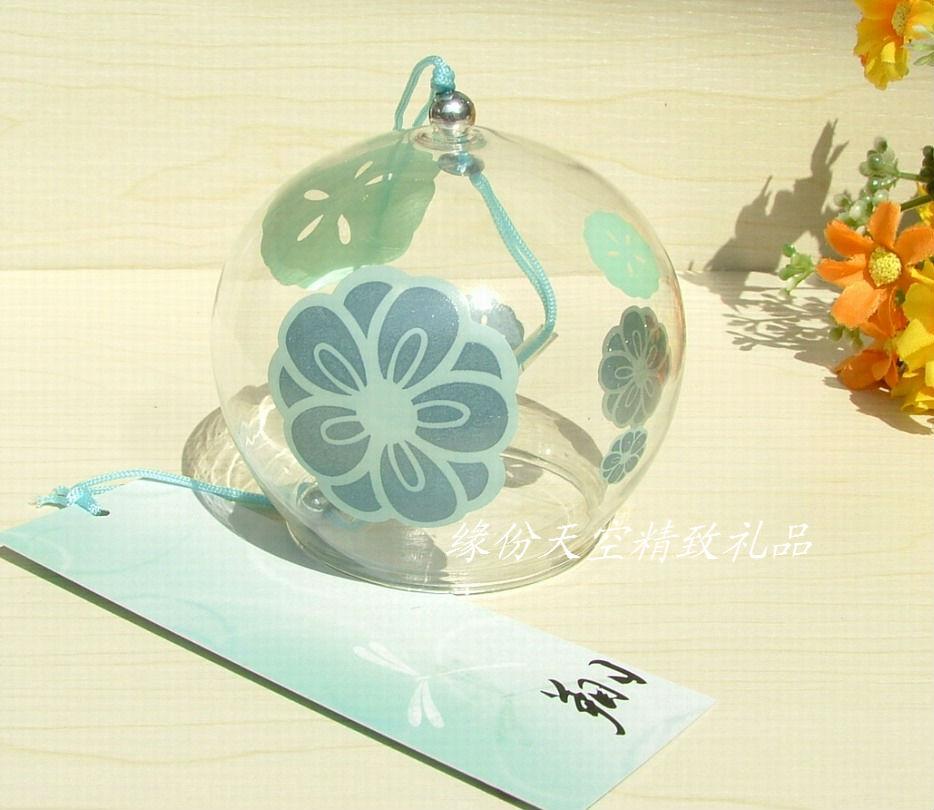 风铃挂饰挂件创意家居卧室女生日礼物日本日式玻璃紫藤樱花小清新