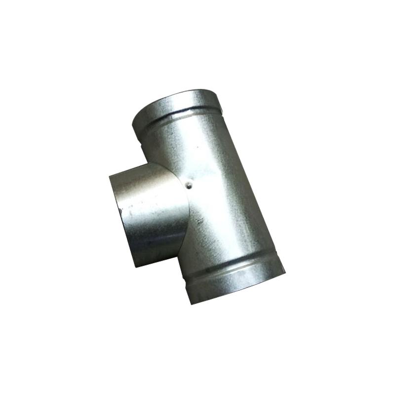 加厚白铁皮烟筒烟囱炉子家用取暖炉烟管柴火炉蜂窝煤排烟管排风管