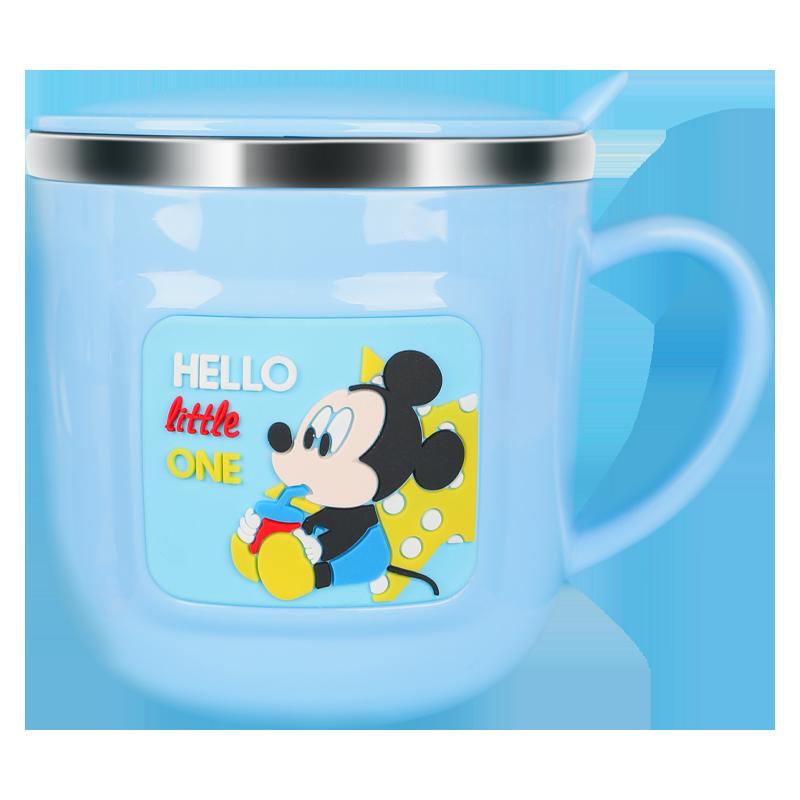 迪士尼儿童水杯家用喝水不锈钢宝宝牛奶杯带刻度防摔幼儿园口杯子 No.4