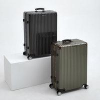 网易严选26寸纯PC铝框非全铝拉杆箱万向轮行李箱旅行箱密码箱皮箱 (¥419)
