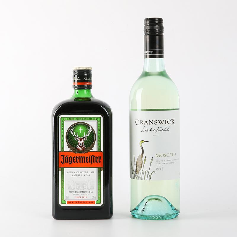 2 醉鹅娘 澳洲进口仙鹤湖莫斯卡托甜白起泡酒德国野格酒力娇酒 支装