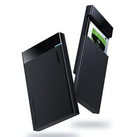 绿联移动硬盘盒2.5英寸sata通用外接usb外置typec读取保护壳台式机笔记本电脑机械ssd固态改西数移动硬盘盒子