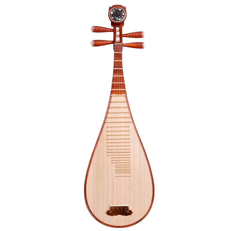 纯手工打磨 专业演奏琵琶大人 初学入门 非洲紫檀木琵琶乐器