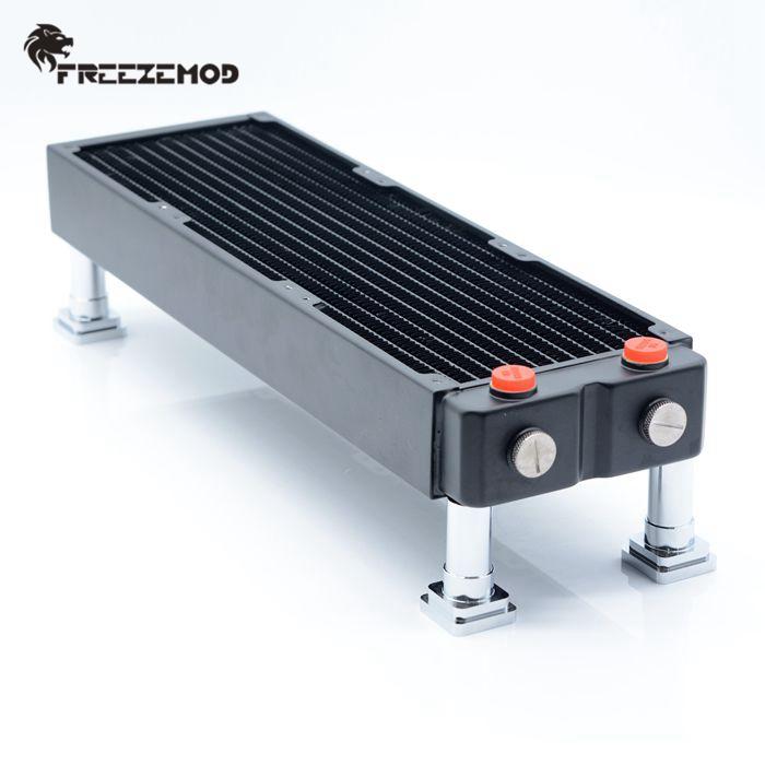 加工 CNC 通用 HJZJ PJ 水冷散热排支架全铝合金桌面安装架 FREEZEMOD