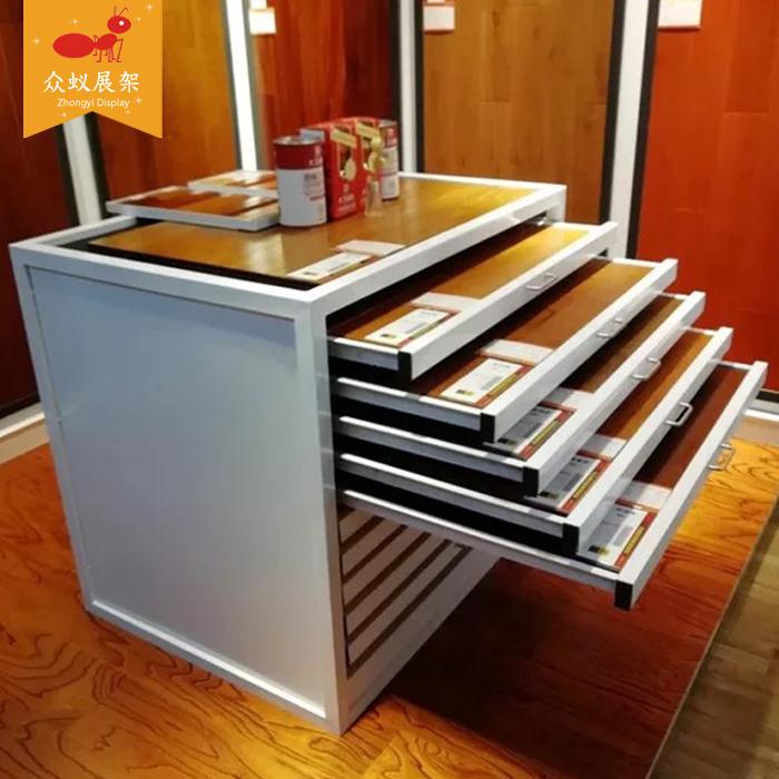 抽拉抽屉式石材物料储物马赛克展示架 800 600 瓷砖展柜推拉柜 众蚁