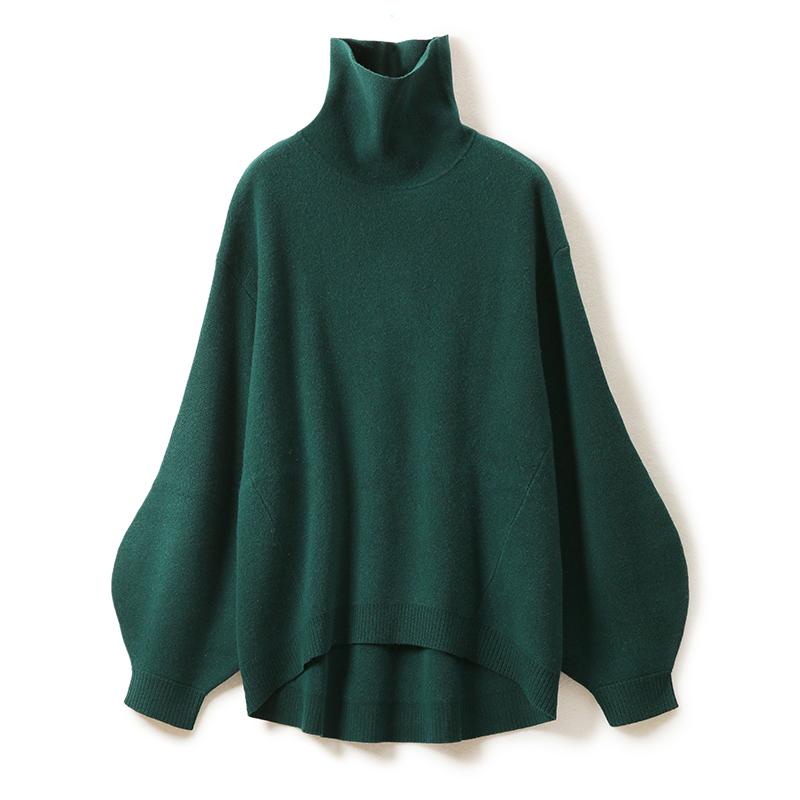 舒暖时尚浓郁色毛衣冬针织上衣 高笈简约美 ZZ1024211 ^戎美 ^