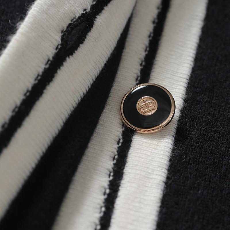 有品有温度懒人式香风针织开衫 羊绒 绵羊毛 ZZ0829165 ^戎美 ^