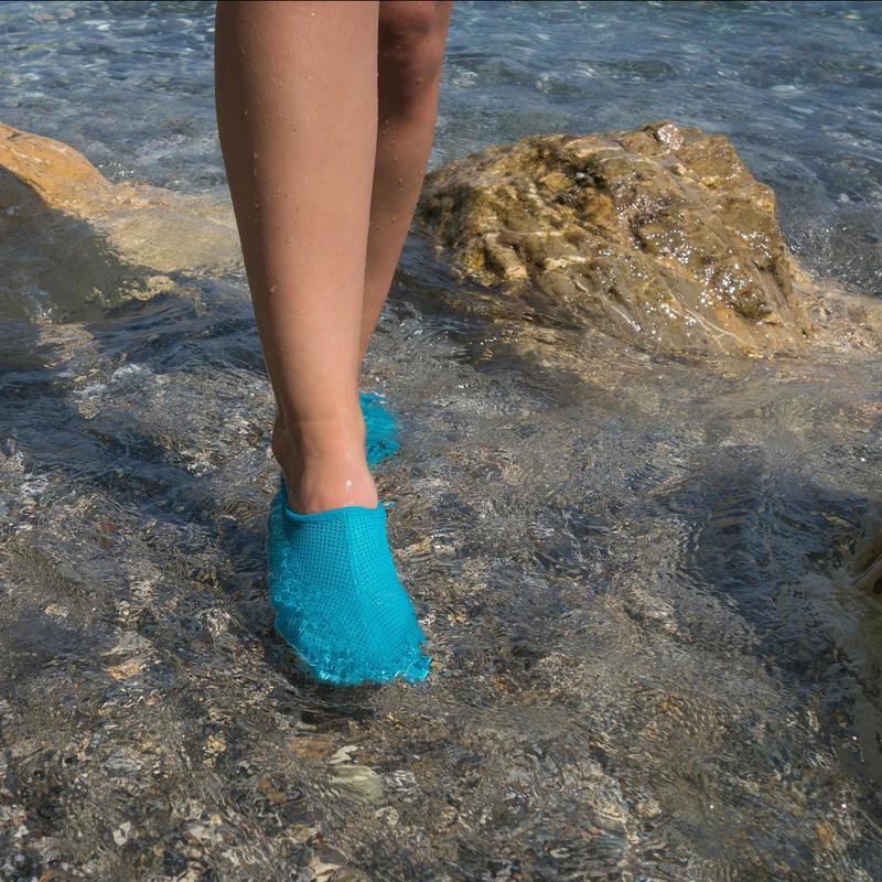 迪卡侬沙滩鞋涉水鞋溯溪鞋潜水装备浮潜鞋防滑防割游泳男女SUBEA