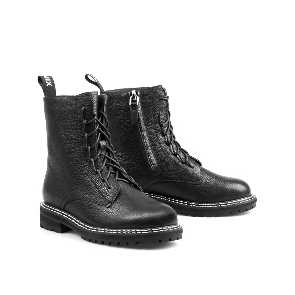 电影731DZ9 冬季新款 2019 聚商场同款天美意马丁靴女平底加绒短筒靴