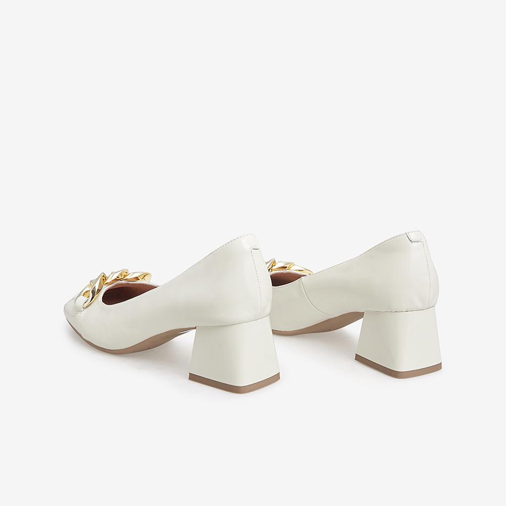 YBW01CQ1 秋新款单鞋新 2021 他她单鞋女方根中跟鞋浅口鞋女 Tata