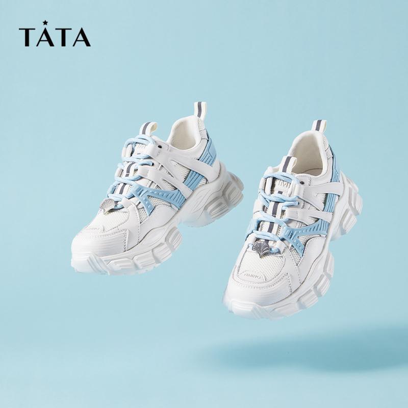 他她厚底休闲老爹鞋 &恋与制作人白起 TATA 天发货 25 预售