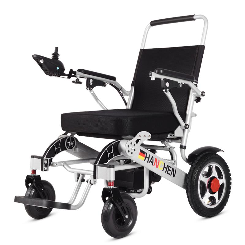 德国老年电动轮椅双人折叠轻便小智能全自动残疾人老人四轮代步车