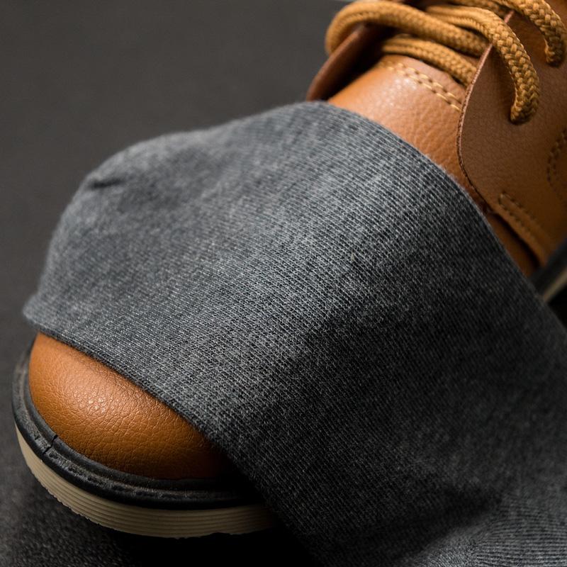 袜子男中筒棉袜夏季薄款纯棉防臭吸汗长袜短袜加厚黑色船袜男士潮