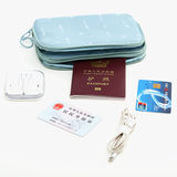Passport bag travel carrying ticket collection package document bag bag passport clip waterproof protective case multi-purpose wallet