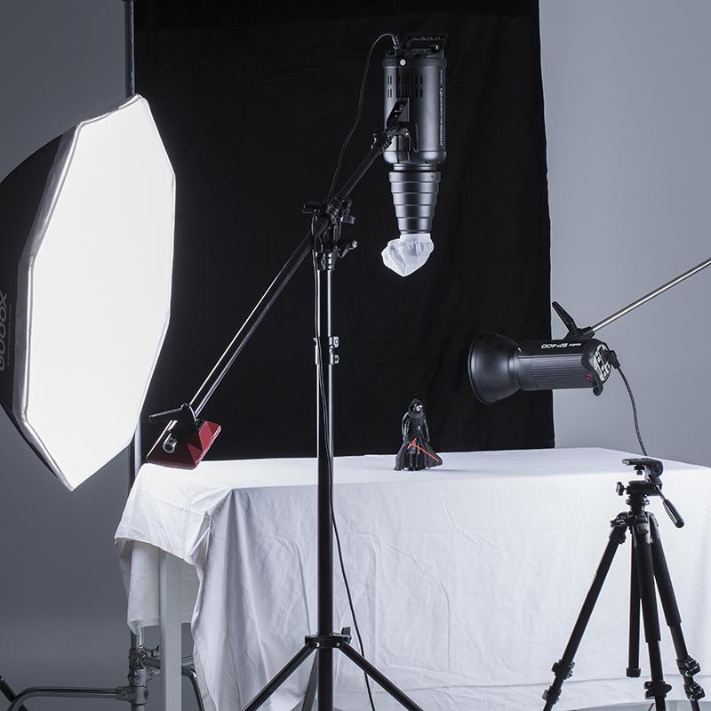 神牛影室闪光灯束光筒摄影灯光附件人像摄影棚器材猪嘴聚光筒摄影 摄影器材配件 摄影聚光灯 束光筒 保荣卡口
