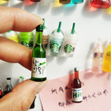 South Korea creative fridge magnet magnet magnetic stickers set 3d three-dimensional simulation personalized magnet decorative bottles comments posted