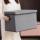衣服收纳箱布艺整理箱家用衣柜神器收纳箱大号可折叠储物玩具箱子 mini 2