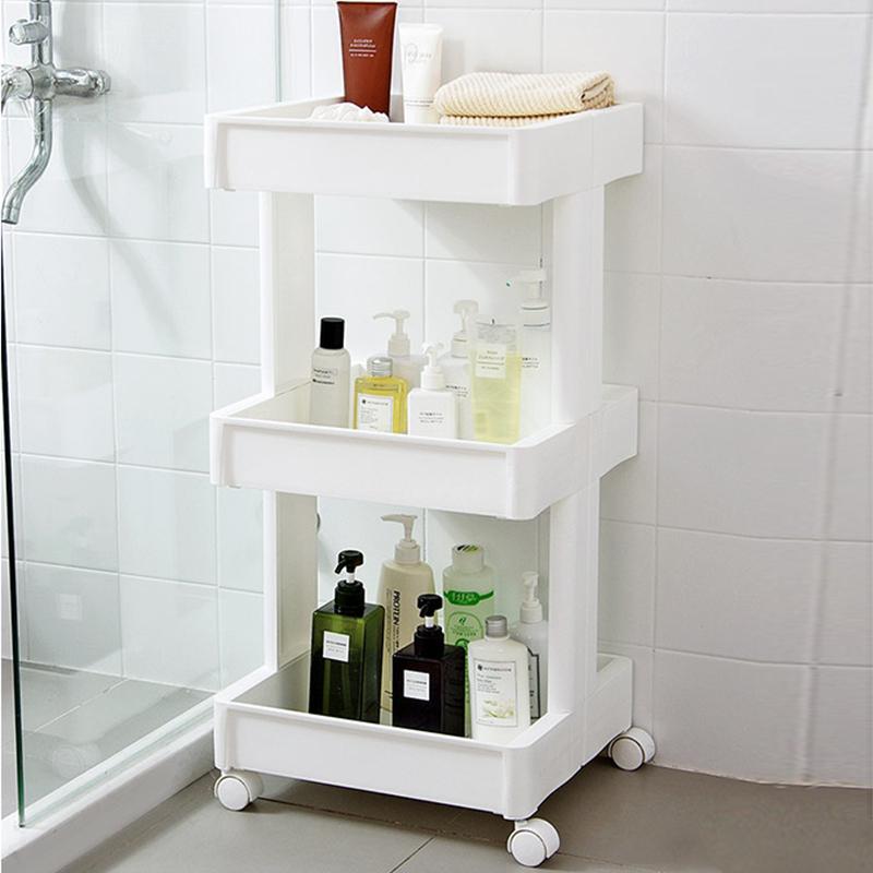 房塑料整理架卫生间分类储物架